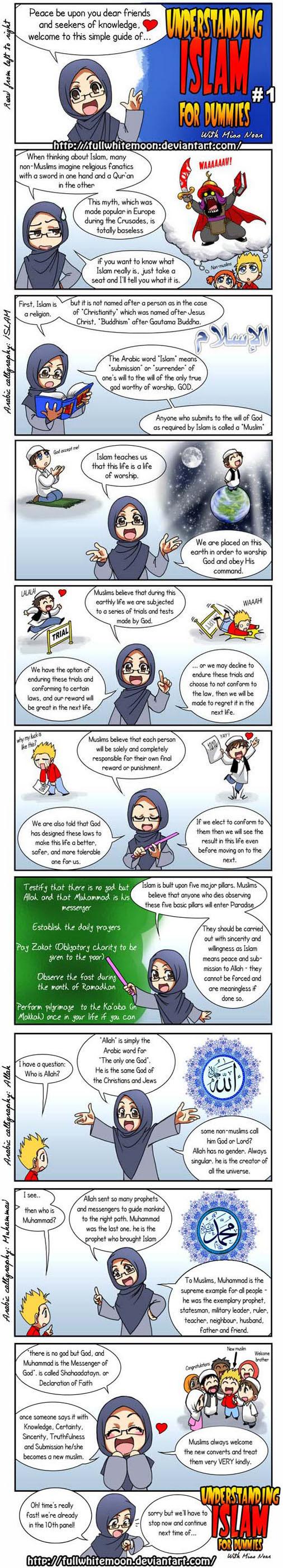 HI (!) Awaklah Yang Tengah Baca Blog Ni !. Jom Kenali Islam Melalui Komik di Bawah ini. ENJOY ^^