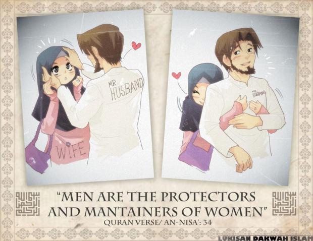 Kartun Dakwah#8 : Suami Pelindung kepada Isteri