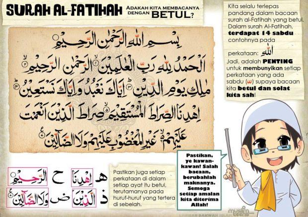 Kartun Dakwah#36 : 14 Sabdu pada Surah Al-Fatihah.