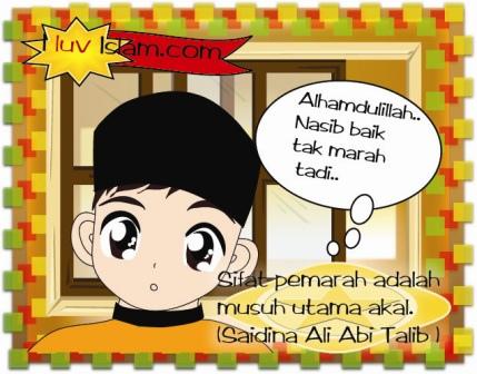 Kartun Dakwah#80 : Pesanan Sayidina Ali bin Abi Talib Mengenai Marah..