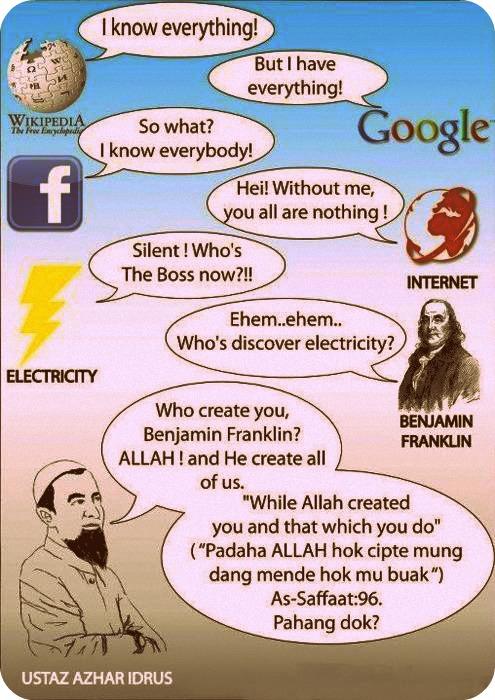 Kartun Dakwah#84 : Allah Create All Of Us.