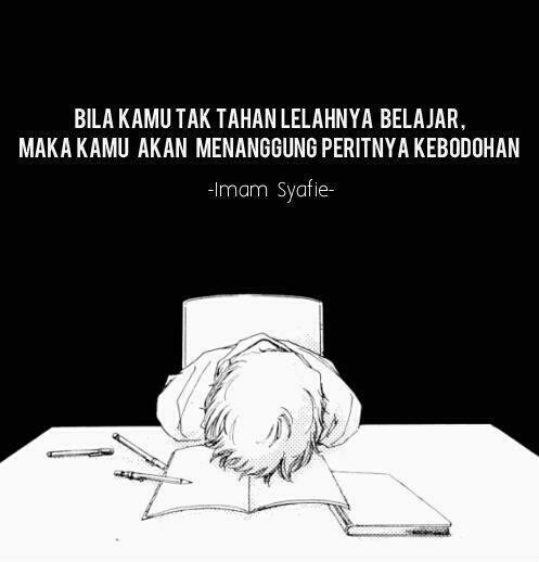 Kartun Dakwah#99 : So True... Kata2 Imam Syafie Mengenai Ilmu :)