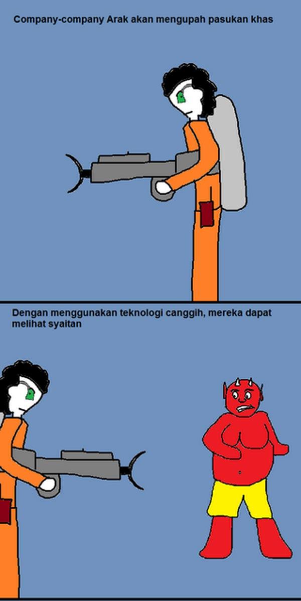 Kartun Dakwah#101 : [Komik] Cara Arak Dihasilkan.. Wakaka!
