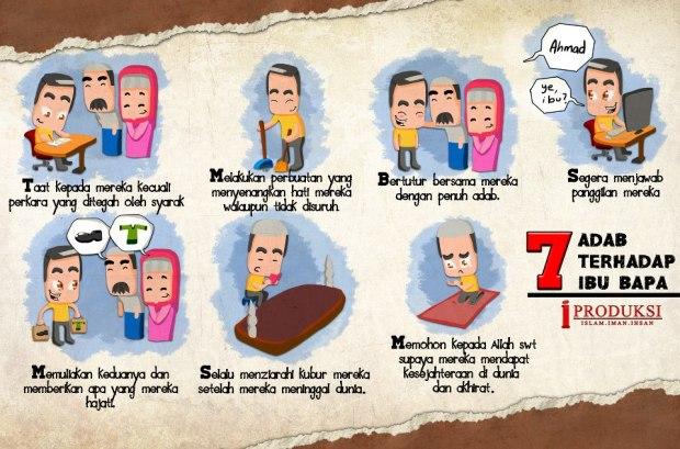 Kartun Dakwah#111 : 7 Adab Terhadap Ibu Bapa.