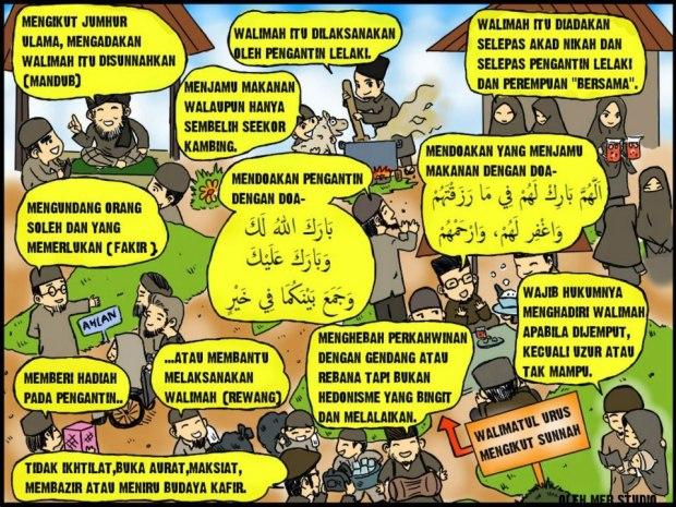 Kartun Dakwah#109 : Sunnah2 Walimatul Urus ^^