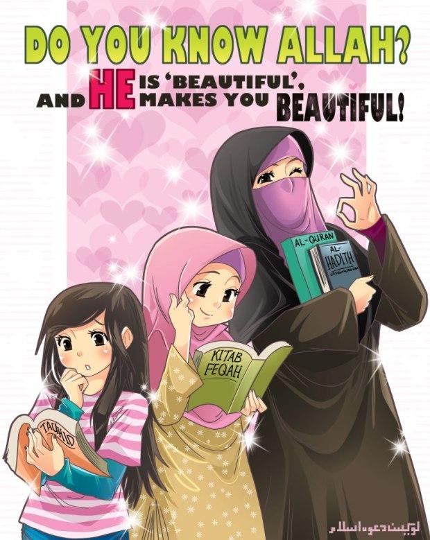 Kartun Dakwah#106 : Let's Cover Our Aurat:)