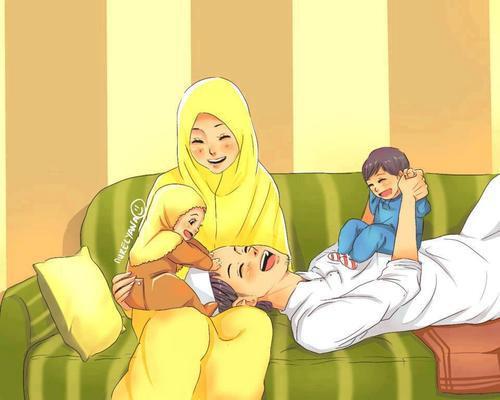 Kartun Dakwah# 104 : Berbahagialah Sesebuah Keluarga yang Dipandu Syariat Islam, InsyaAllah:)