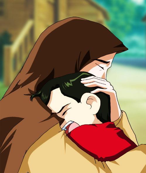 Kartun Dakwah#117 : [HADIS] Ibumu.. Kemudian Ibumu., Kemudian Ibumu.. kemudian ayahmu :')