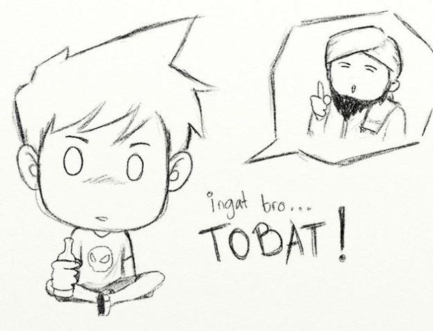 Kartun Dakwah#114 : Ingat Bro... Taubat!