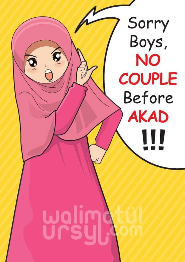 Kartun Dakwah#131 : No COUPLE Before AKAD(Nikah).