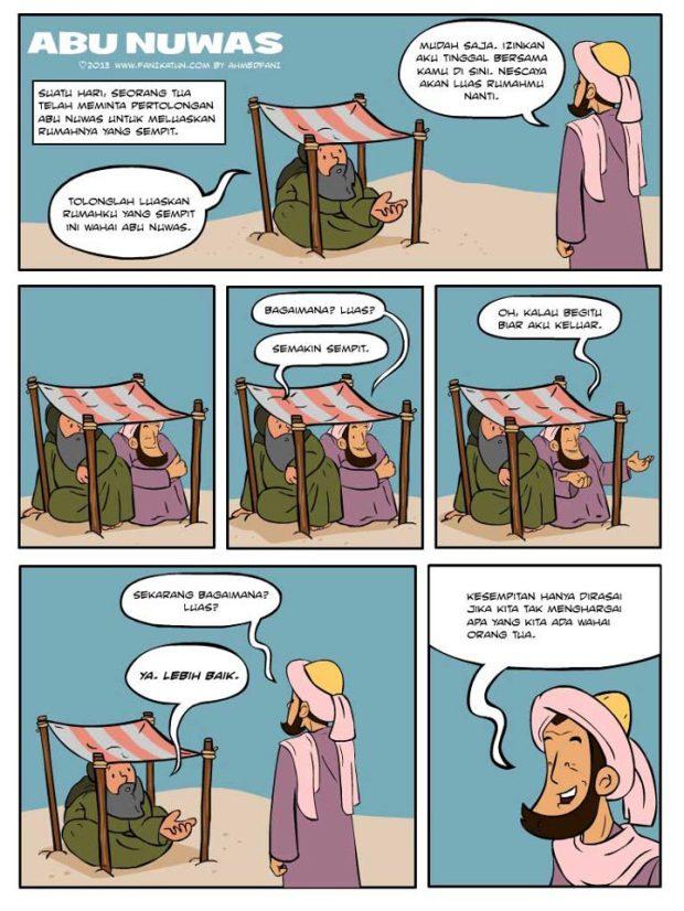 Kartun Dakwah#119 : [Kisah Abu Nuwas] Kesempitan Dirasai Apabila Kita Tak Menghargai.