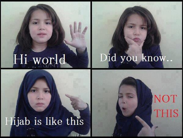 [KIDS] : Hijab, The Correct Way & The Wrong Way.