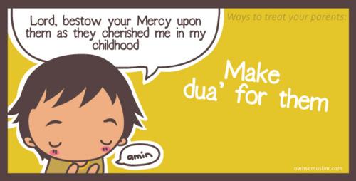Kartun Dakwah#121 : Islamic Ways on How To Treat Your Parent.
