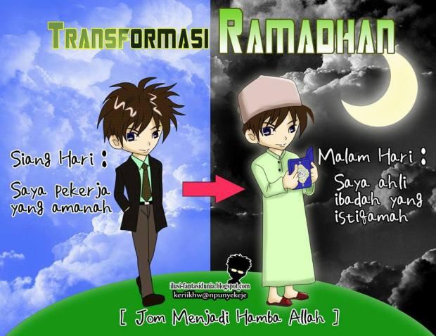 Kartun Dakwah#146 : Transformasi Ramadhan:)