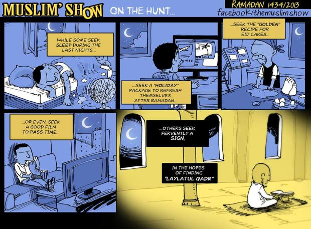 Kartun Dakwah#142 : On The Hunt For,, Lalatul Qadr!