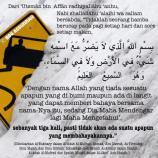Doa Perlindungan (beserta terjemahan)