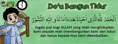 Doa Bangun Tidur (beserta terjemahan)