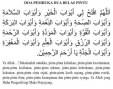 Doa Pembuka 12 Pintu (beserta terjemahan)