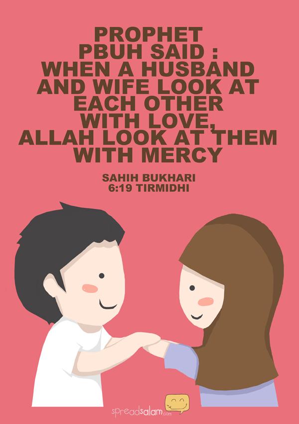 Kartun Dakwah#161 : [HADIS] Pandangan Kasih Sayang Suami Isteri