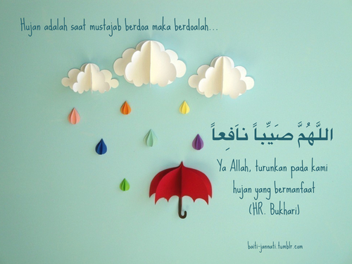 [DOA] : Ketika Hujan.