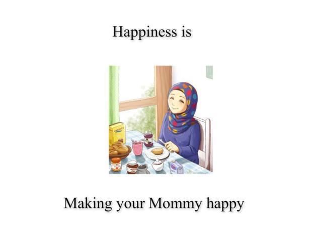 Kartun Dakwah#163 : Happiness is, Making Your Mom Happy ^^