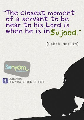 Kartun Dakwah#164 : The Closest Moment of a Sevant To Be Near To His Lord is when he is in Sujood