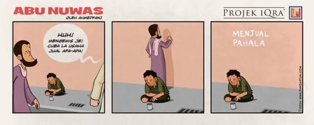 MuslimArt#5 : Abu Nuwas| Pengemis/Menjual Pahala.