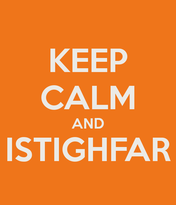 [WALLPAPER] Keep Calm and Istighfar