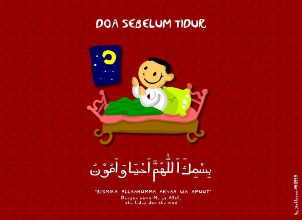 [DOA] Doa Sebelum Tidur