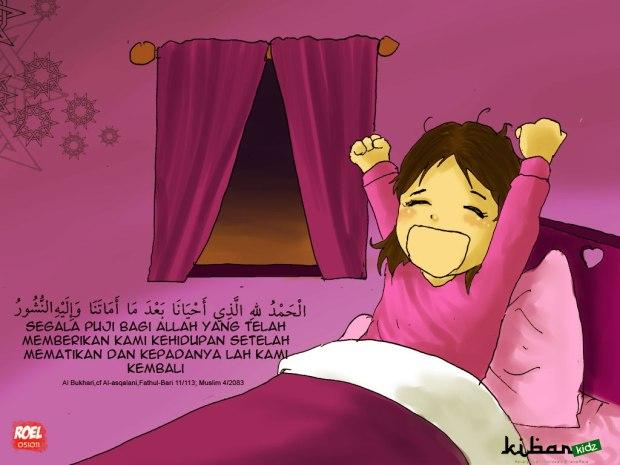 [DOA] Doa Bangun Tidur